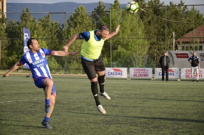 Altın Safran Kurumlararası futbol turnuvasında sona gelindi