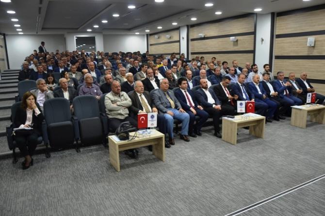 Biga'da KHGB toplantısı yapıldı