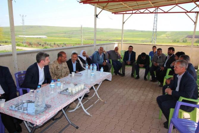 Kaymakam Şener, vatandaşlarla bir araya geldi