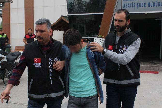 6 gün içerisinde 3 yeri soyan firari hırsız aylar sonra yakalandı