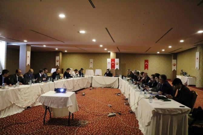 Kayseri OBM'de Değerlendirme Toplantısı