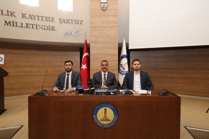Şahinbey'de mayıs ayı meclis toplantısı yapıldı