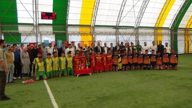 TÜGVA Kızıltepe futbol turnuvası tamamlandı