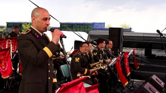 Askeri bandodan müzik şöleni