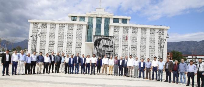Başkan Turgay Genç, muhtarları ağırladı