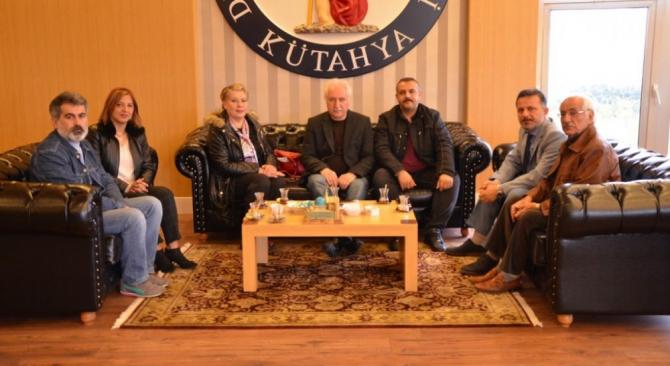 GÜSED'ten Rektör Gören'e ziyaret