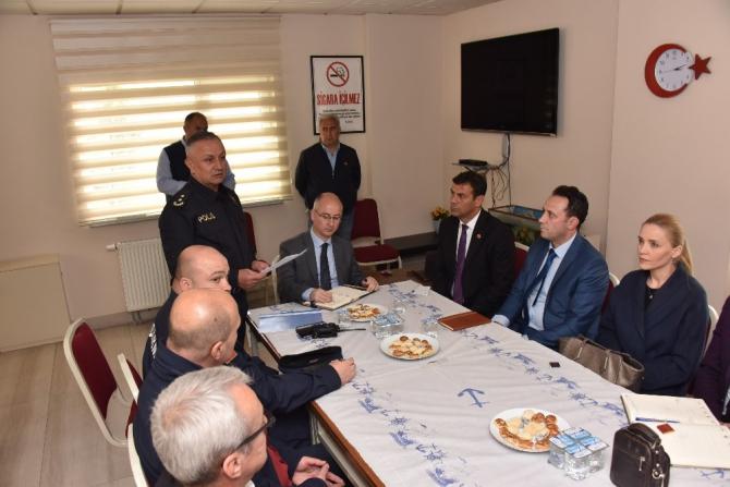 Bozüyük'te ilçe güvenlik danışma kurulu toplantısı