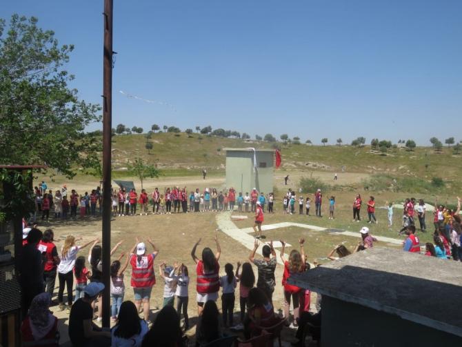 Aydın Genç Kızılay 'Çocuk Fest' ile 500 çocuğa ulaştı