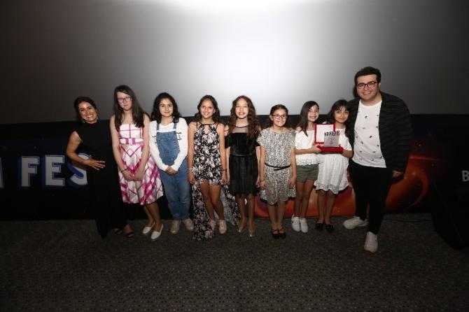 Geleceğin sinemacıları 'Bahçeşehir Koleji Kısa Film Festivali'nde buluştu