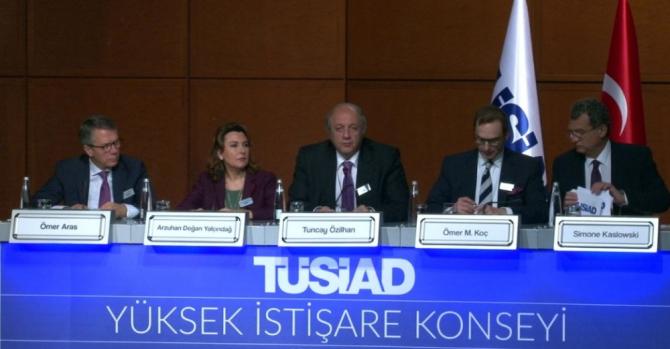 TÜSİAD'da ekonomiden çok siyaset konuşuldu