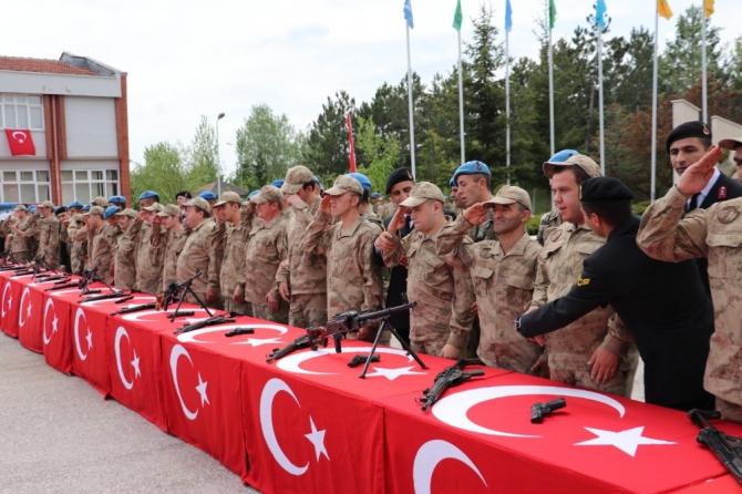 Engelli askerler için yemin töreni düzenlendi