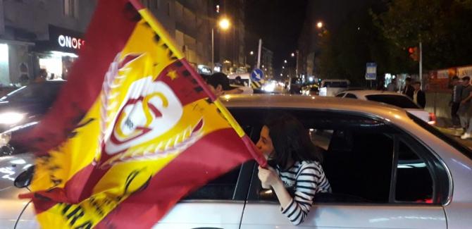 Van'da Galatasaray'ın şampiyonluk kutlaması