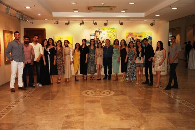 Güzel Sanat Fakültesi öğrencilerinden mezuniyet sergisi