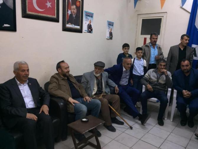 Keskin'de 2 büyük aile AK Parti'ye katıldı