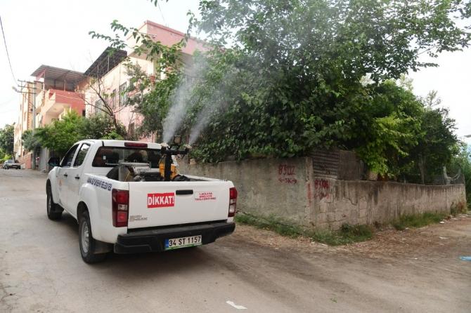Adana'da vektör mücadelesi gece gündüz sürüyor