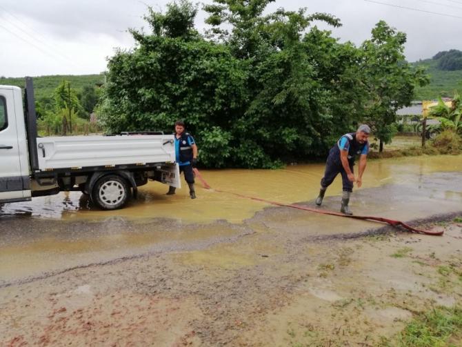 Kocaali'de metrekareye 50 kilogram yağış düştü