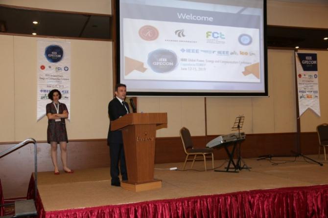 NEVÜ'den 'IEEE GPECOM 2019 1. Küresel Güç, Enerji ve Haberleşme Konferansı'