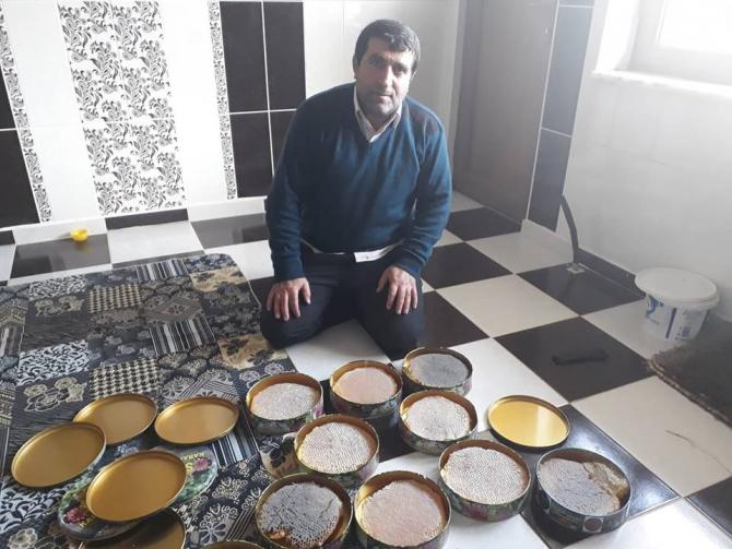 Sason'da bal üreticileri yüksek rekolte bekliyor