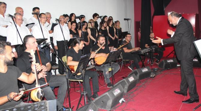 Alaşehir'de milli mücadelenin 100. yılına özel konser