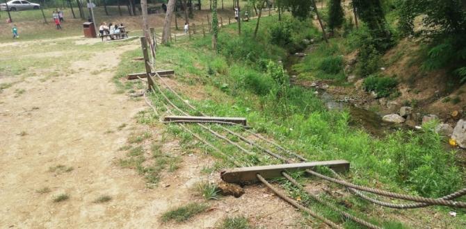 Cephanelik mesire alanı elden geçirildi