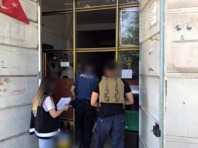 Mardin polisinden çocuk ve gençlerin korunmasına yönelik 'tek dal' denetimi