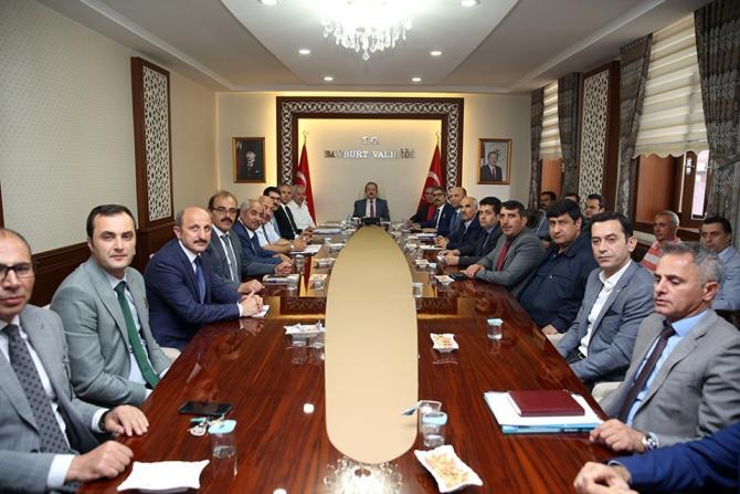 Bayburt'ta İl Ekonomi Değerlendirme Toplantısı yapıldı