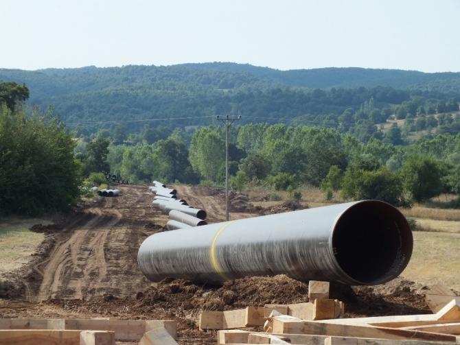 Avrupa'nın doğalgazı Pazaryeri'nden geçiyor