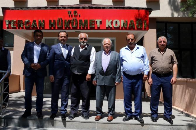 Meclis Başkanı Yıldız Tercan'daki çalışmaları yerinde inceledi