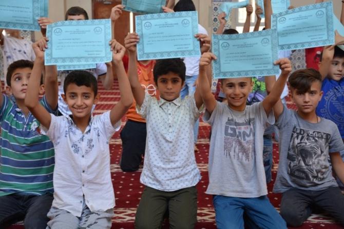 Silopi'de binlerce çocuk eğlenerek dinini öğrendi