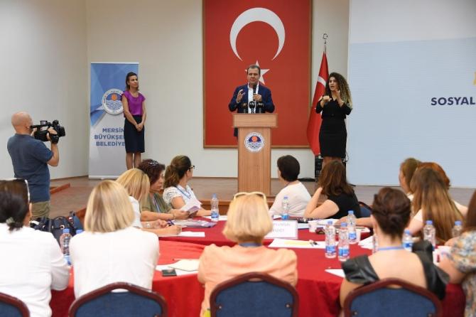Mersin Büyükşehir Belediyesi sosyal hedeflerini belirliyor