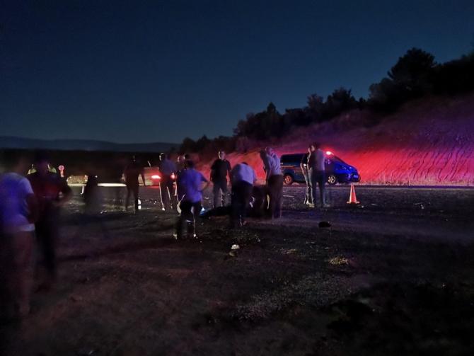 Otomobil yayalara çarptı: 1 ölü 3 yaralı