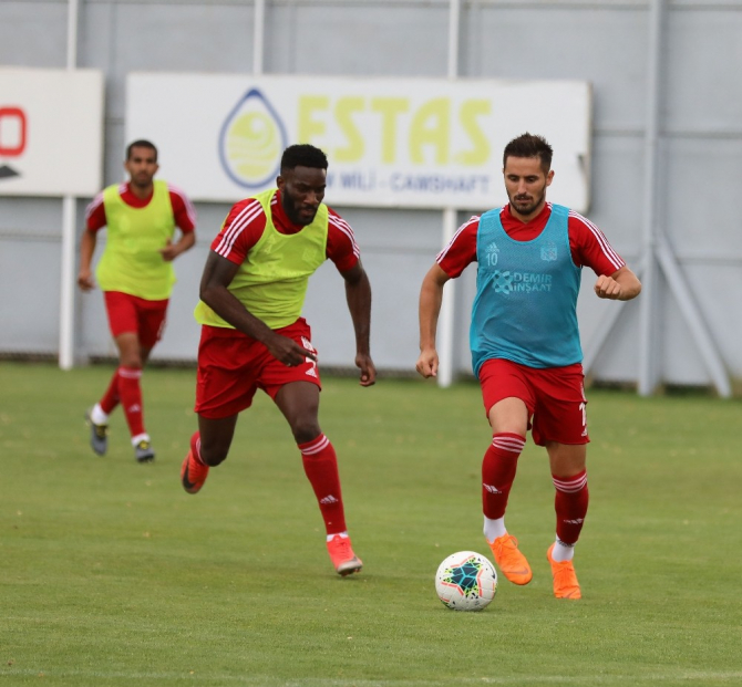 Sivasspor, Beşiktaş maçı hazırlıklarını tamamladı