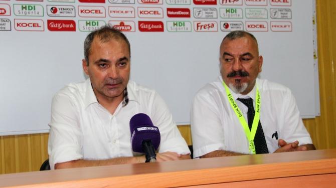 """Erkan Sözeri: """"Lige kaza ile başladık"""""""