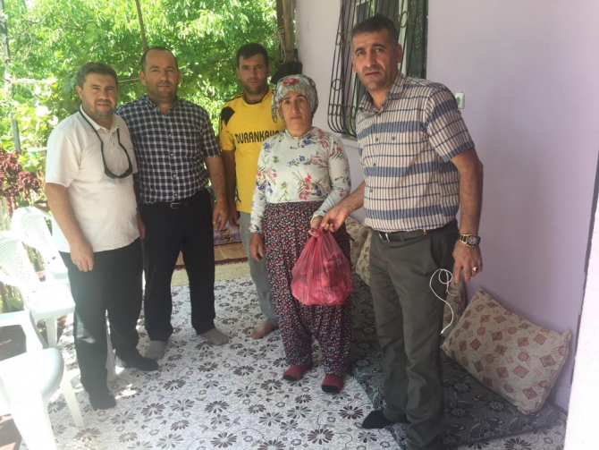 Hakkari'de şehit ve gazi ailelerine kurban eti dağıtıldı