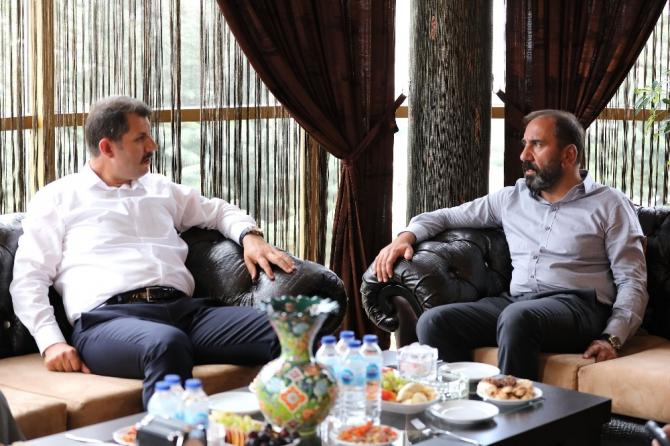 Vali'den Sivasspor'a baklava dopingi