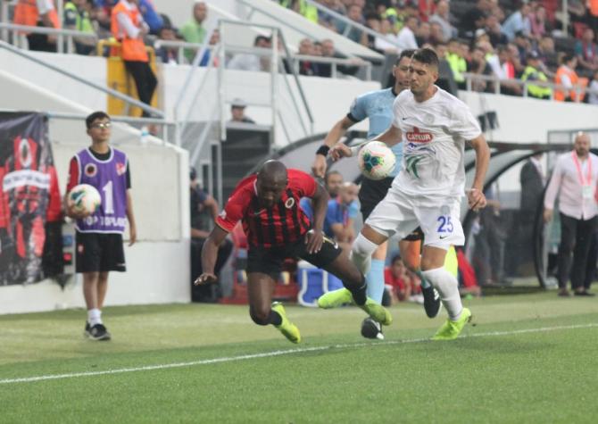 Süper Lig: Gençlerbirliği: 0 - Çaykur Rizespor: 0 (İlk yarı)