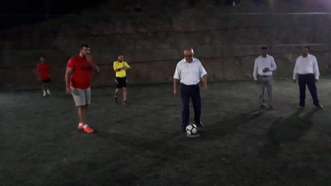 Karacaören futbol turnuvasıyla şenlendi