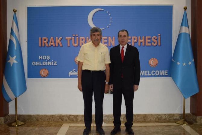 Eskişehir Türk Ocağı Başkanı Nedim Ünal Irak Türkmeneli temasları