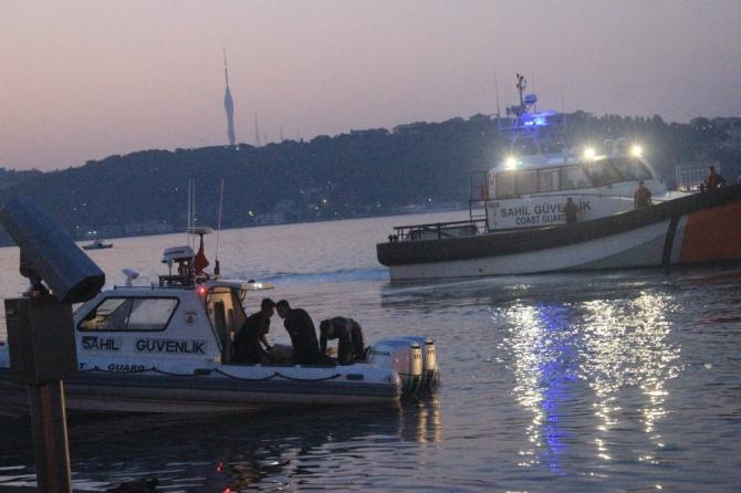 Beşiktaş'ta denize girdikten sonra boğulan şahsın cesedi çıkarıldı
