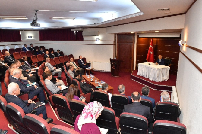 Denizli'de 'Kaymakamlar ve Kurumların İl Müdürleri' toplantısı