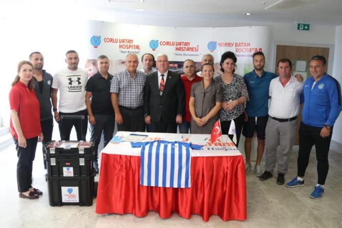 Ergene Velimeşespor, özel hastane ile anlaşma imzaladı