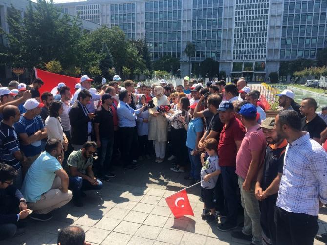 """AK Parti Genel Başkan Yarımcısı Kaya: """"Bir önce bu zulümlere son verin"""""""