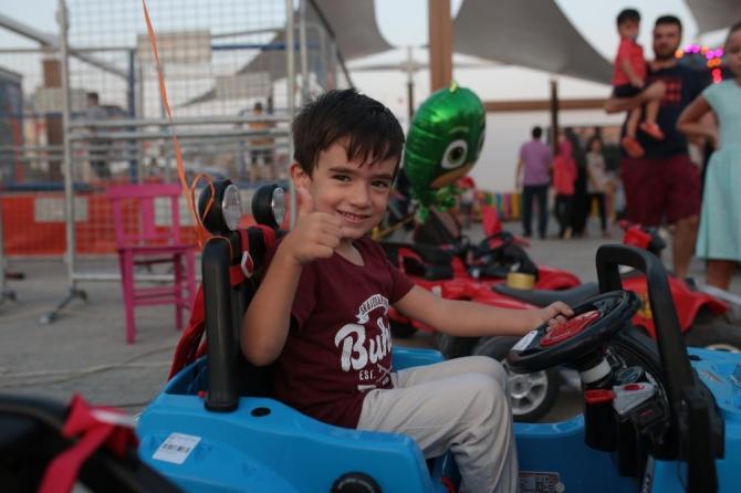 Kepez'in Sokak Festivali'nde çocuklar çok mutlu