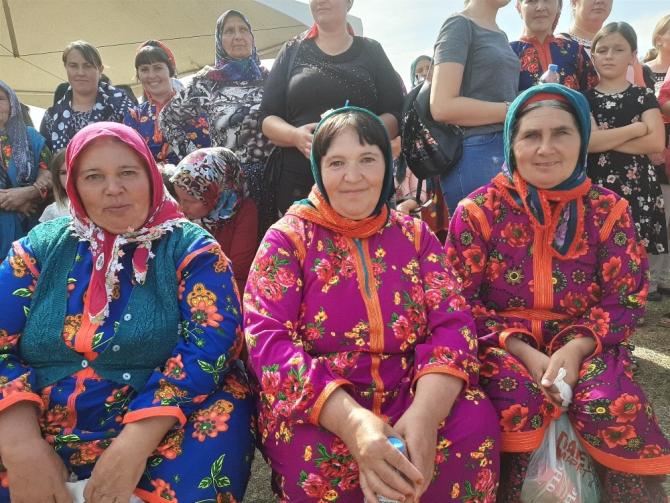 Makedonya Ravodiş'teki Yörük Festivali renkli geçti