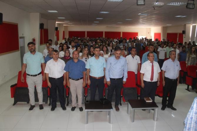 Yavuzeli'nde 2019-2020 eğitim öğretim yılı toplantısı yapıldı