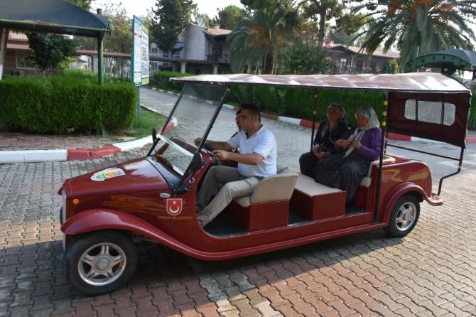 Tarsus'ta 'buggy' araçları vatandaşların hizmetinde