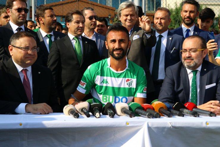 Bursaspor'da imza töreni