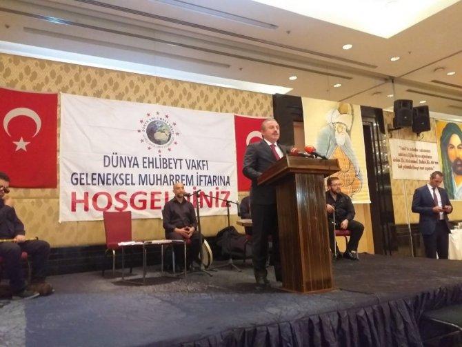 """Meclis Başkanı Şentop: """"Bugün insanlık, büyük bir buhranın ve kuşatmanın mağduru ve esiridir"""""""
