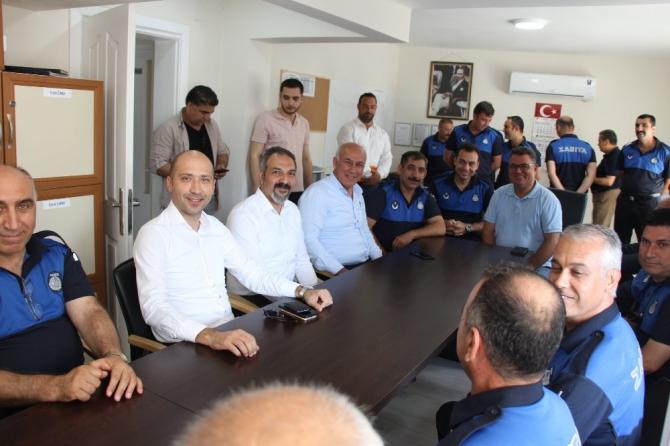 Başkan Tuncel zabıta personelini unutmadı