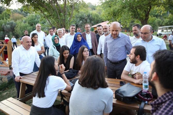 Başkan Bıyık, Darıca Millet Bahçesini inceledi